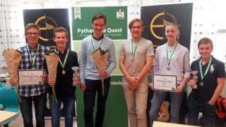 IES Wins Gold and Silver in Prestigious Maths Contest.